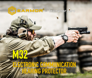 EARMOR M32 Tactical Communication Hearing Protector
