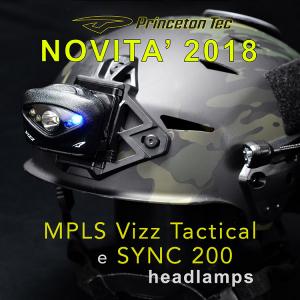 VIZZ TAC MPLS e SYNC: le novità di Princeton Tec