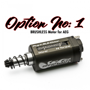 Option No 1 Brushless Motor