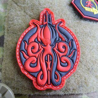 JTG Remembrance Poppy Patch 3D Rubber patch