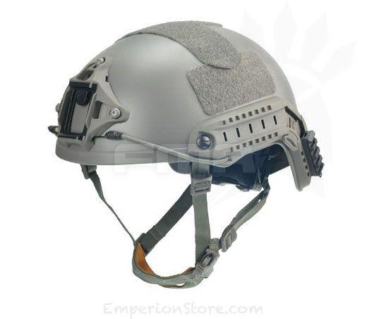 Airsoft Af Core Ops Mich Black Helmet Rail Clips Block Mounts Uk