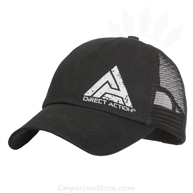 Direct Action Feed Cap Black